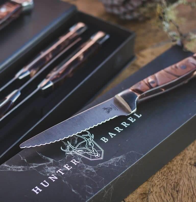Hunter & Barrel Knife Set
