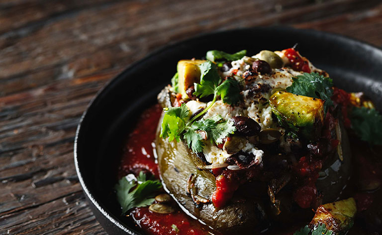 Roasted Chiles Rellenos